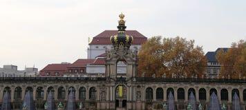 Zwinger pałac w Drezdeńskim, Niemcy (Dera Dresdner Zwinger) Obrazy Royalty Free