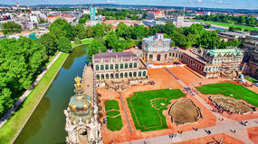 Zwinger pałac (Dera Dresdner Zwinger) Obrazy Stock