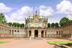 Zwinger Palace Royalty Free Stock Photos