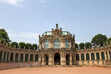 Zwinger Palace Stock Photo