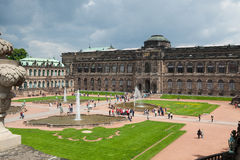 Zwinger Palace Royalty Free Stock Photo