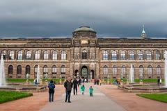 Zwinger Palace architect Matthaus Poppelmann Stock Images
