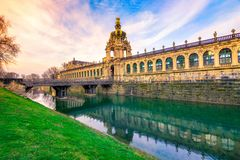 Zwinger palace, art gallery and museum in Dresden. Zwinger palace, art gallery and museum in Dresden, Germany Stock Photography
