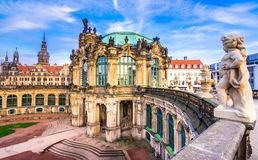 Zwinger palace, art gallery and museum in Dresden. Zwinger palace, art gallery and museum in Dresden, Germany Royalty Free Stock Photos