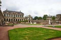 Zwinger Palace Gardens, Dresden, Germany royalty free stock photos