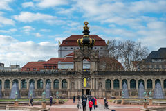 Zwinger palace Stock Photography