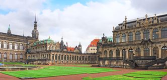 Zwinger Palace (Der Dresdner Zwinger) in Dresden Stock Photography