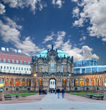 Zwinger Palace (Der Dresdner Zwinger) in Dresden, Germany Royalty Free Stock Photo