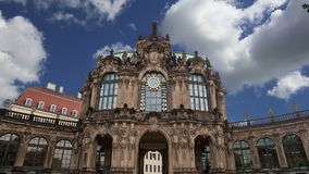 Zwinger Palace Der Dresdner Zwinger in Dresden, Germany stock video