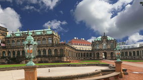 Zwinger Palace Der Dresdner Zwinger in Dresden, Germany stock footage