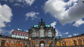 Zwinger Palace Der Dresdner Zwinger in Dresden, Germany stock video footage