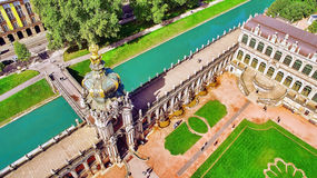 Zwinger Palace (Der Dresdner Zwinger) Stock Photography