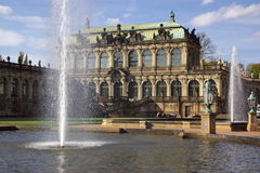 Zwinger palace in Dresden Royalty Free Stock Image