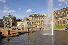 Zwinger palace in Dresden Royalty Free Stock Photos