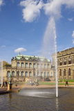 Zwinger palace in Dresden Stock Image