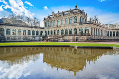 Zwinger palace, Dresden Royalty Free Stock Photography