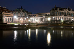 Zwinger palace in Dresden, Germany Royalty Free Stock Images