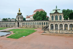 Zwinger palace, Dresden, Germany Stock Image