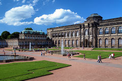 The Zwinger Palace in Dresden, Germany Stock Photo