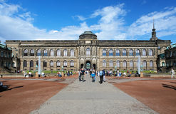 The Zwinger Palace in Dresden, Germany Stock Image