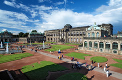 The Zwinger Palace in Dresden, Germany Stock Images