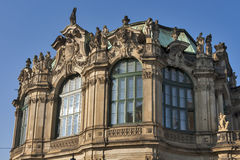 Zwinger palace in Dresden, Germany. stock photography