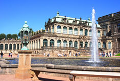 Zwinger Palace. Dresden, Germany Stock Photo