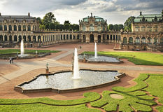 Zwinger Palace in Dresden. Germany Stock Images