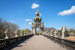 Zwinger Palace, Dresden, Germany Stock Photos