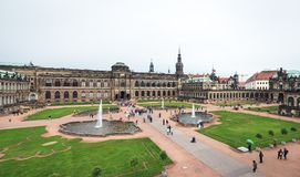 Zwinger palace in Dresden, Germany Stock Photos