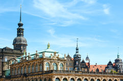 Zwinger palace (Dresden, Germany) Stock Photo