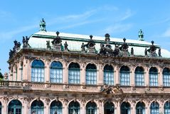 Zwinger palace (Dresden, Germany) Royalty Free Stock Photo