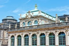 Zwinger palace (Dresden, Germany) Stock Images