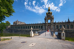 Zwinger Palace in Dresden, Germany Stock Photo