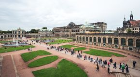 Zwinger palace in Dresden, Germany Stock Photography