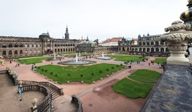 Zwinger palace in Dresden, Germany Royalty Free Stock Image