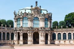 Zwinger palace (Dresden, Germany) Royalty Free Stock Images