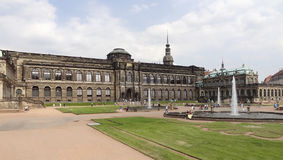 Zwinger Palace in Dresden Royalty Free Stock Photography