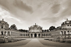 The Zwinger Palace in Dresden Royalty Free Stock Photo