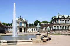 Zwinger Palace in Dresden Royalty Free Stock Images