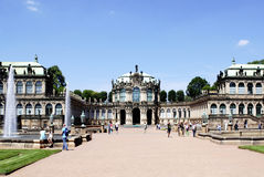 Zwinger Palace in Dresden Stock Photography