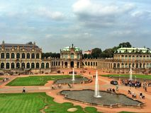 Zwinger Palace in Dresden Stock Photo