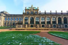 Zwinger Palace Dresden Germany royalty free stock image