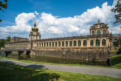 Zwinger Palace and museum complex in Dresden, eastern Germany Stock Images