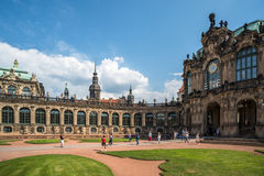 Zwinger Palace and museum complex in Dresden, eastern Germany Royalty Free Stock Photos