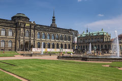 Zwinger Palace, museum complex in Dresden Royalty Free Stock Images