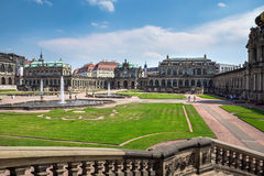 Zwinger Palace, museum complex in Dresden Stock Photography