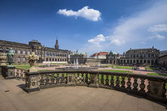 Zwinger Palace, museum complex in Dresden Royalty Free Stock Photography