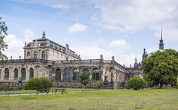 Zwinger Palace, museum complex in Dresden. Zwinger Palace, museum complex and most visited monument in Dresden, Germany Stock Images