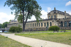 Zwinger Palace, museum complex in Dresden. Zwinger Palace, museum complex and most visited monument in Dresden, Germany Royalty Free Stock Image
